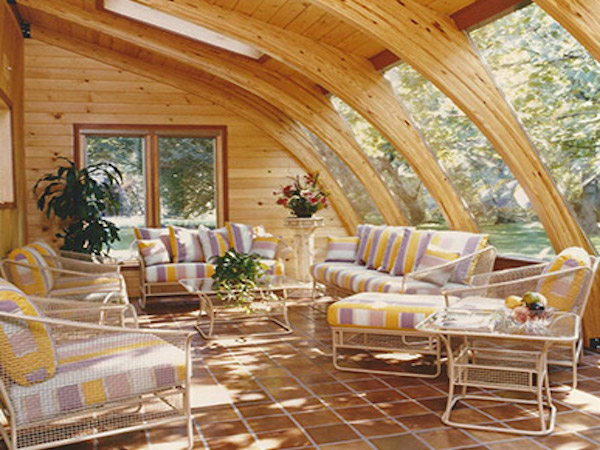 Sunroom Solid Roof